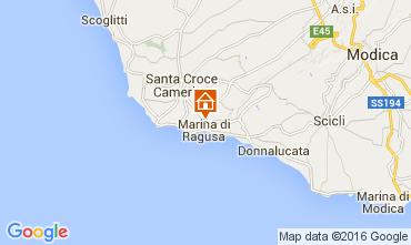Map Marina di Ragusa Villa 104486