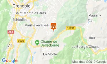 Map Chamrousse Apartment 28273
