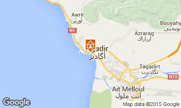 Map Agadir Apartment 88840