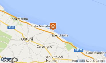 Map Ostuni Villa 63549
