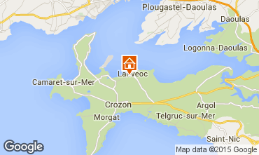 Map Crozon House 79990