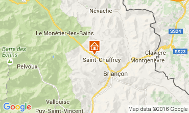 Map Serre Chevalier Apartment 105467