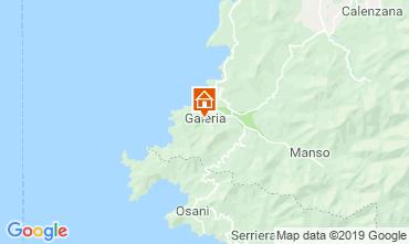 Map Calvi Apartment 98682