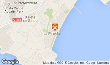 Map La Pineda Apartment 93565