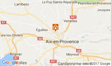 Map Aix en Provence Apartment 111513