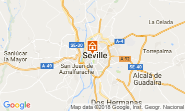 Map Seville Apartment 106199
