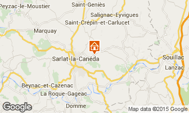 Map Sarlat House 12405
