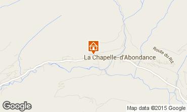 Map La Chapelle d'Abondance Chalet 94027