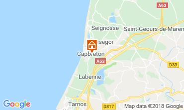Map Capbreton House 117113