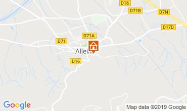 Map Alleins Villa 110556