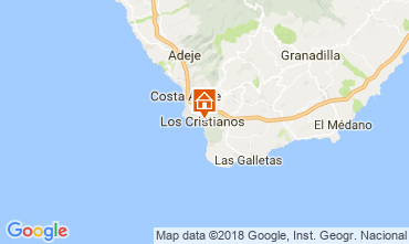 Map Los Cristianos Apartment 115856
