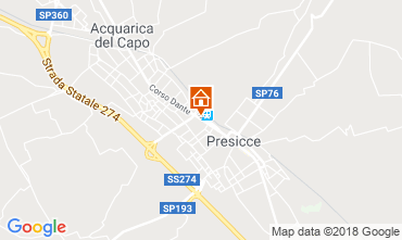 Map Presicce Apartment 116151