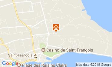 Map Saint Francois Vacation rental 16331