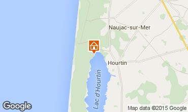 Map Hourtin Apartment 10885