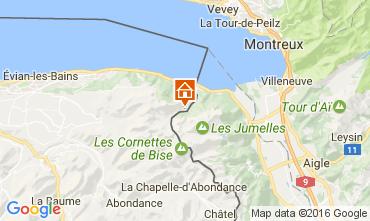 Map Evian les Bains House 84422