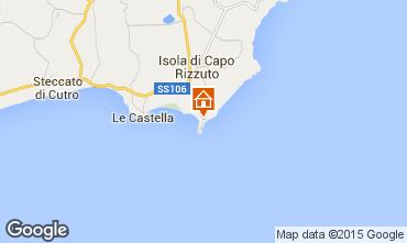 Map Isola di Capo Rizzuto Apartment 86613