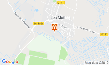 Map La Palmyre Mobile home 119941