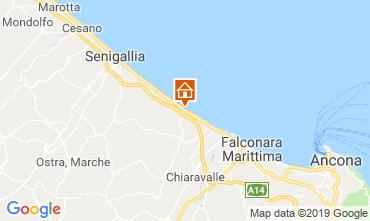 Map Senigallia Apartment 116942