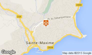 Map Sainte Maxime House 22491