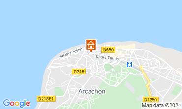 Map Arcachon One-room apartment 98573