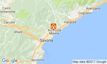 Map Albissola Apartment 65808