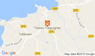 Map Perros-Guirec House 101395