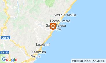 Map Taormina Apartment 114813