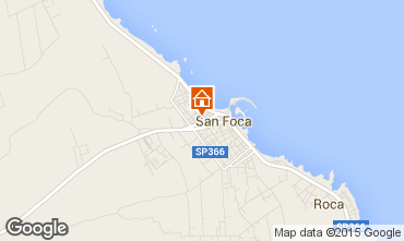 Map San Foca Apartment 62942