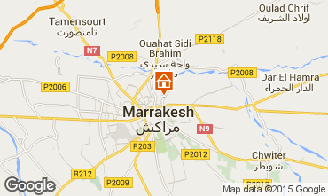 Map Marrakech Villa 14094