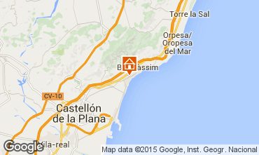 Map Benicasim Villa 55631
