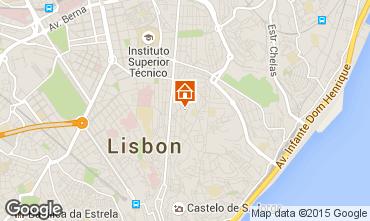 Map Lisbon Apartment 68982