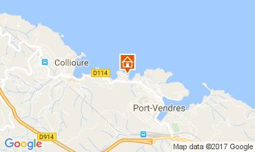 Map Collioure Apartment 107920