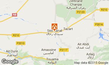 Map Casablanca Villa 33283