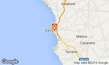 Map Gallipoli Apartment 97119