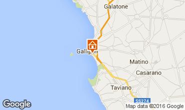 Map Gallipoli Apartment 97119