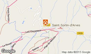 Map Saint Sorlin d'Arves Chalet 2686