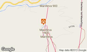 Map Marilleva Apartment 74205