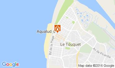 Map Le Touquet Apartment 106167