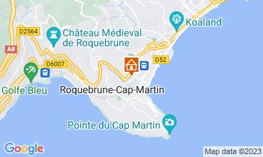 Map Roquebrune Cap Martin One-room apartment 87369