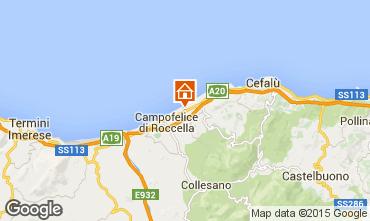 Map Cefalù Villa 97857