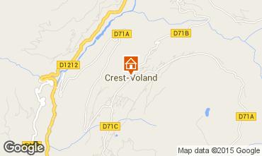 Map Crest Voland Cohennoz Apartment 61393