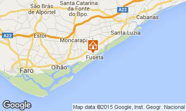 Map Olhão Apartment 74598