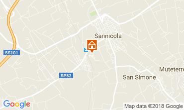 Map Gallipoli Villa 113919