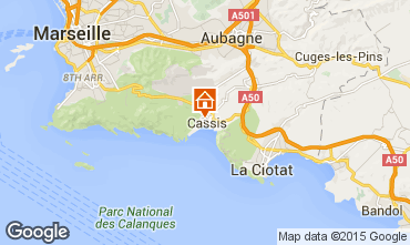 Map Cassis Apartment 59359