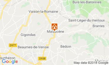 Map Malaucène House 116203