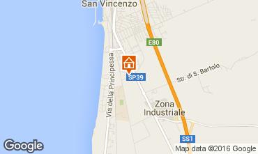 Map San Vincenzo House 10223