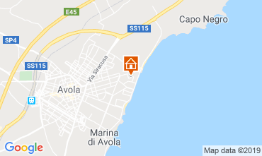 Map Avola Villa 107899