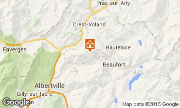 Map Les Saisies Apartment 59791