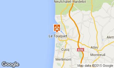 Map Le Touquet Villa 101677