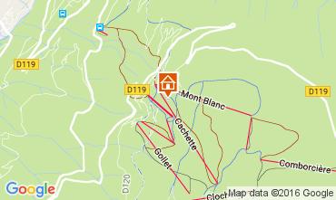 Map Les Arcs Chalet 94006